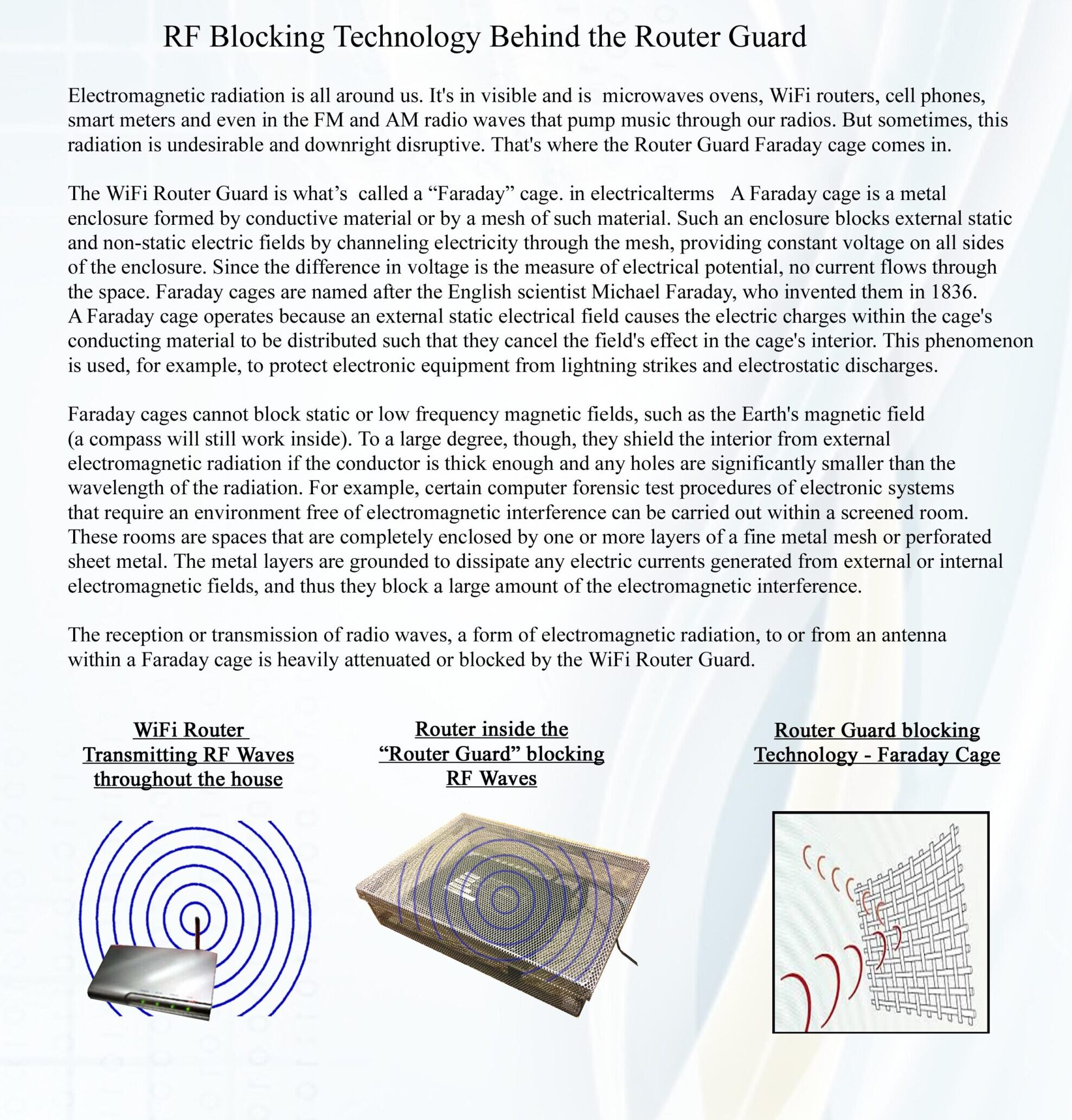 2. Router RF Blocking Technology